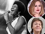 Aretha Franklin tributes: Stars share moving notes  after legend dies