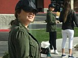 Demi Lovato looks happy as she enjoys coffee outside of rehab in first appearance after overdose