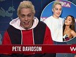 Pete Davidson pokes fun at Ariana Grande engagement on SNL