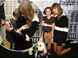 Taylor Swift meets eight-year-old fan with autism after donating $10k to help him get a service dog