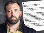 Ben Affleck breaks his silence on his 40-day rehab visit as he thanks his family for his support