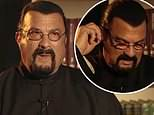 Steven Seagal storms off interview after questions about rape claims