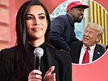 Kim Kardashian says she had to 'educate' Kanye West after meeting with Donald Trump