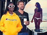 Joshua Jackson's new love revealed: Actor pictured holding hands with girlfriend Jodie Turner-Smith
