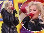 Rita Ora mocked on Twitter for toe-curling lip-sync fail in Thanksgiving Parade