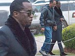 Diddy attends private viewing of 'soulmate' Kim Porter day before funeral after sharing prayer video