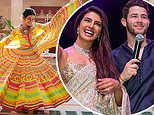 Priyanka Chopra and Nick Jonas 'have 18-FOOT CAKE' at Christian wedding in Indian palace