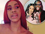 Cardi B splits from husband Offset: 'We grew out of love'