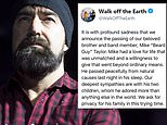 Walk Off The Earth keyboardist Mike 'Beard Guy' Taylor dead 'from natural causes in his sleep'