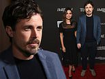 Casey Affleck with Floriana Lima at Sean Penn's Haitian fundraiser gala in LA