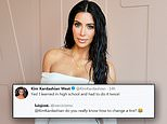 Kim Kardashian defends her claim that she can change a tire