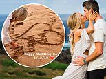 Arie Luyendyk Jr and Lauren Burnham tie the knot during romantic ceremony in Hawaii