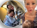 Jenna Jameson reveals she resolved blocked milk duct in her breast with the help of baby Batel