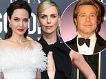 Charlize Theron 'has been feuding for years' with Angelina Jolie… and now she's dating Brad Pitt