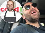 MasterChef star George Calombaris gets busted during a Greek singalong in the car