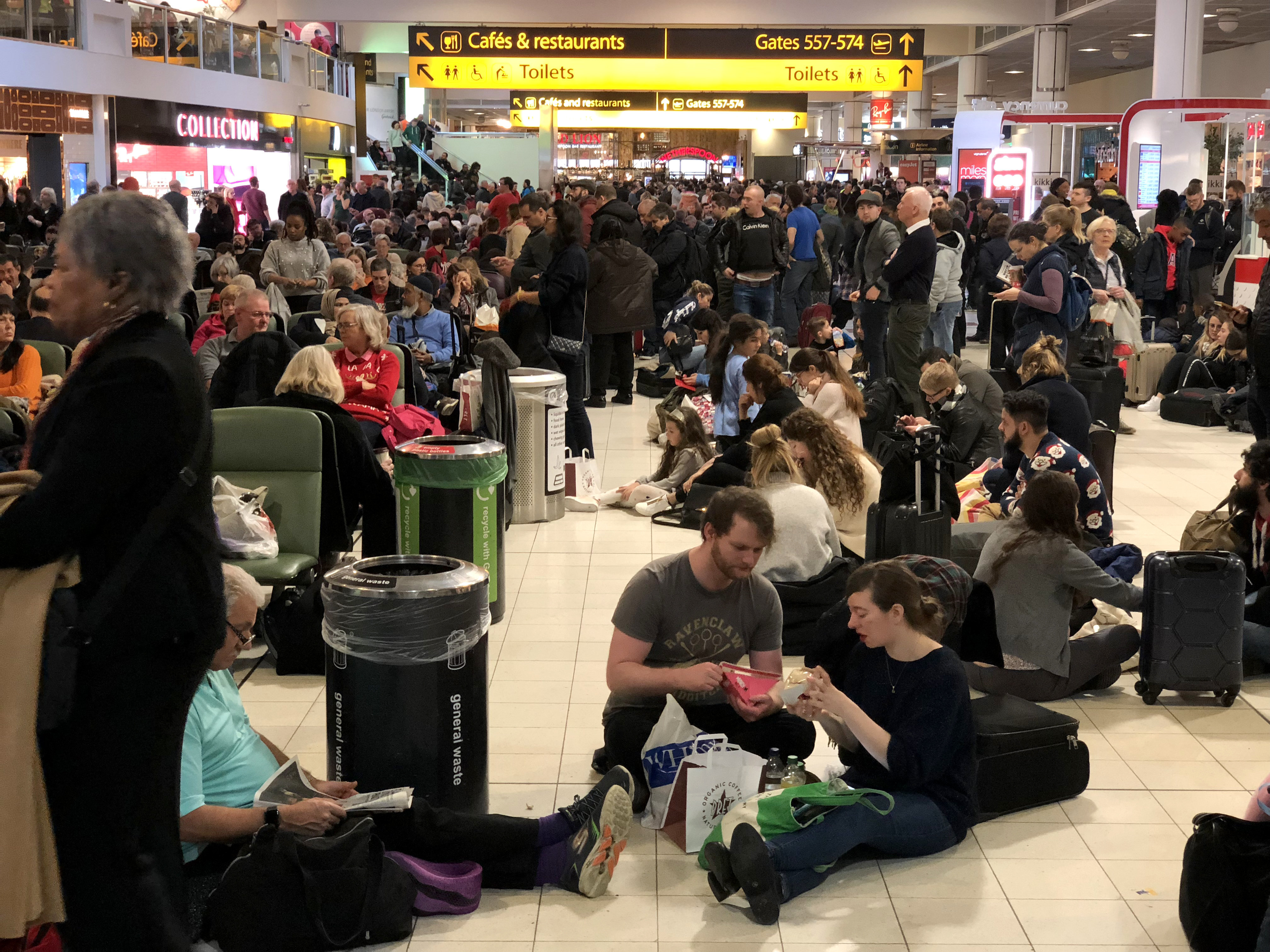 Drones Shut Down Britain's Second-Biggest Airport During Peak Holiday Travel Season
