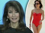 'I was shocked': All My Children's Susan Lucci, 71, on THOSE swimsuit pictures of her on the beach