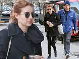 Evan Peters and Emma Roberts take to NYC streets with teas