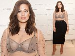 Ashley Graham models see-through top and bra as she promotes Plus-Size lingerie collection