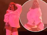 Rihanna gets booed by 60,000 fans at Belgian festival after showing up an hour late and lip-syncing almost the entire show