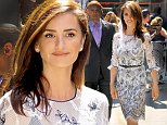Penelope Cruz, 42, looks caliente as she stops by Good Morning America in NYC to plug Ma Ma