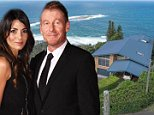 Rake star Richard Roxburgh reveals he loves a quiet life of pizza and tranquillity on the Northern Beaches with TV chef wife Silvia Colloca