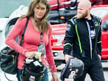 Caitlyn Jenner and son Burt satisfy their need for speed as they spend a day racing muscle cars