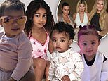 Kim and Khloe file to trademark their kids' names to put on clothing, toys and skincare