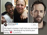 Luke Perry's Riverdale co-star Molly Ringwald leads tributes to Beverly Hills, 90210 star