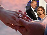 Jennifer Lopez and Alex Rodriguez are engaged! Power couple show off MASSIVE diamond engagement ring