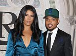 Chance The Rapper marries Kirsten Corley in front of guests Kim Kardashian and Kanye West