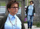 Gabrielle Carteris is spotted out for the first time since the death of her 90210 co-star Luke Perry