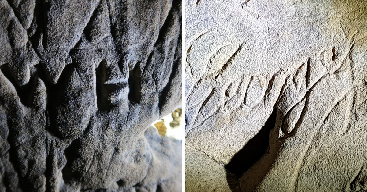 Hundreds of 'witches' marks' used to fend off evil spirits discovered in caves