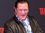 Michael Madsen arrested for drink driving after crashing his SUV into a pole