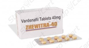 Zhewitra 40mg : Reviews, Side effects, Price | Strapcart