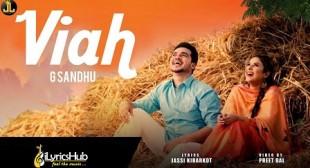 VIAH Lyrics – G Sandhu