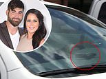 Jenelle Evans and David Eason go to child custody case with what appears to be a gun on dashboard