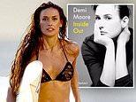 Demi Moore, 56, shares cover for new memoir where she talks about drugs