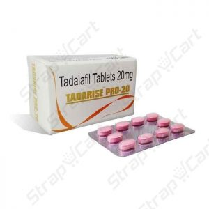 Tadarise Pro 20mg : Review, Side effects, Dosage | Strapcart