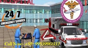 Avail Advance Road Ambulance service in Dwarka by Panchmukhi