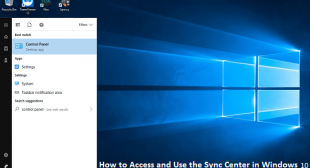 How to Access and Use the Sync Center in Windows 10?