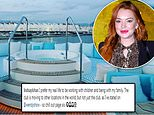 Lindsay Lohan claims her Mykonos beach club is just moving after it was reported closed
