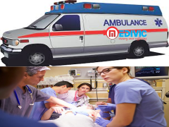 The Best and Fast Road Ambulance Services in chanakyapuri by Medivic Ambulance