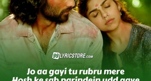 ZARA SUNO LYRICS — MALAAL | Meezaan, Sharmin Segal