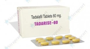 Tadarise 60mg : Review, Side effects, Price | Strapcart