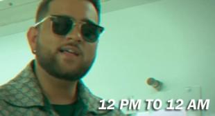 12 PM to 12 AM Lyrics by Khan Baini
