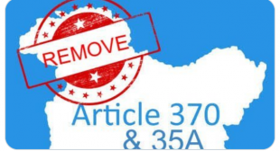 Historic Decision Taken by Mr Modi Government – Article 370 & 35A removed | TheReportBox