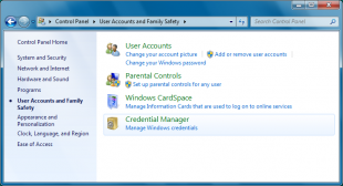 How to Add, Remove and Edit Credential Manager in Windows