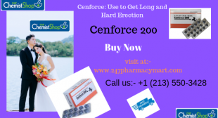 Cenforce 200mg the best remedy for ED