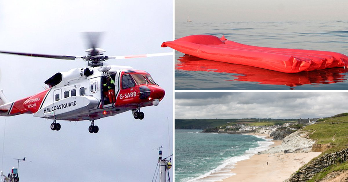 Coastguard uses hoax story to highlight dangers of inflatables at sea